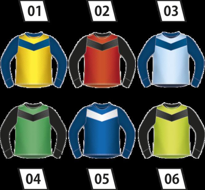 Bluza bramkarska Colo Arrow - SUBLIMACYJNA