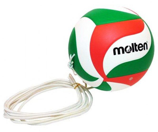 Piłka do siatkówki Molten V5M9000-T treningowa (z gumką)