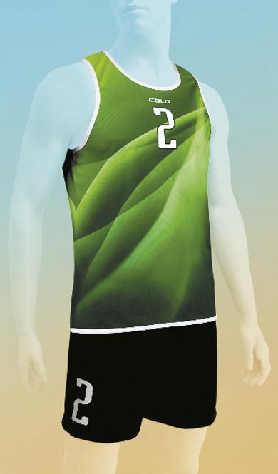 Strój do siatkówki plażowej Colo Ascent - SUBLIMACYJNY