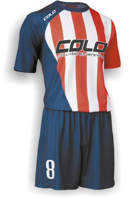 Strój piłkarski Colo Impery P1 - SUBLIMACYJNY